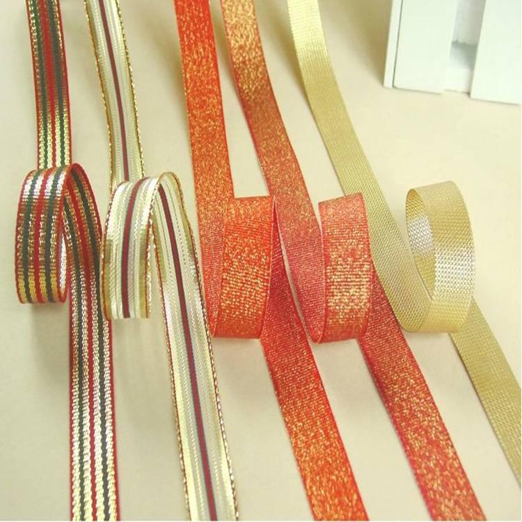 Colorful decoration metallic ribbon