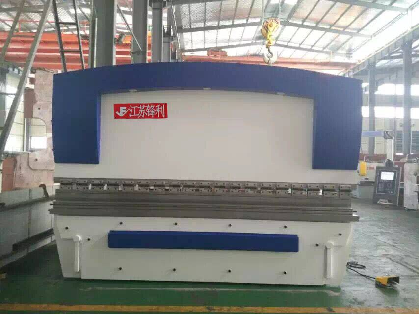 hydraulic press brake for steel sheet bending/folding