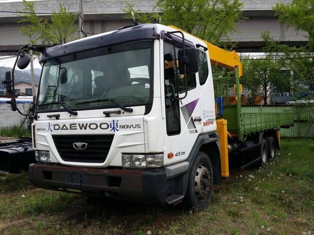 Daewoo Novus SE (used 2012)+ new crane Soosan SCS 736 L II