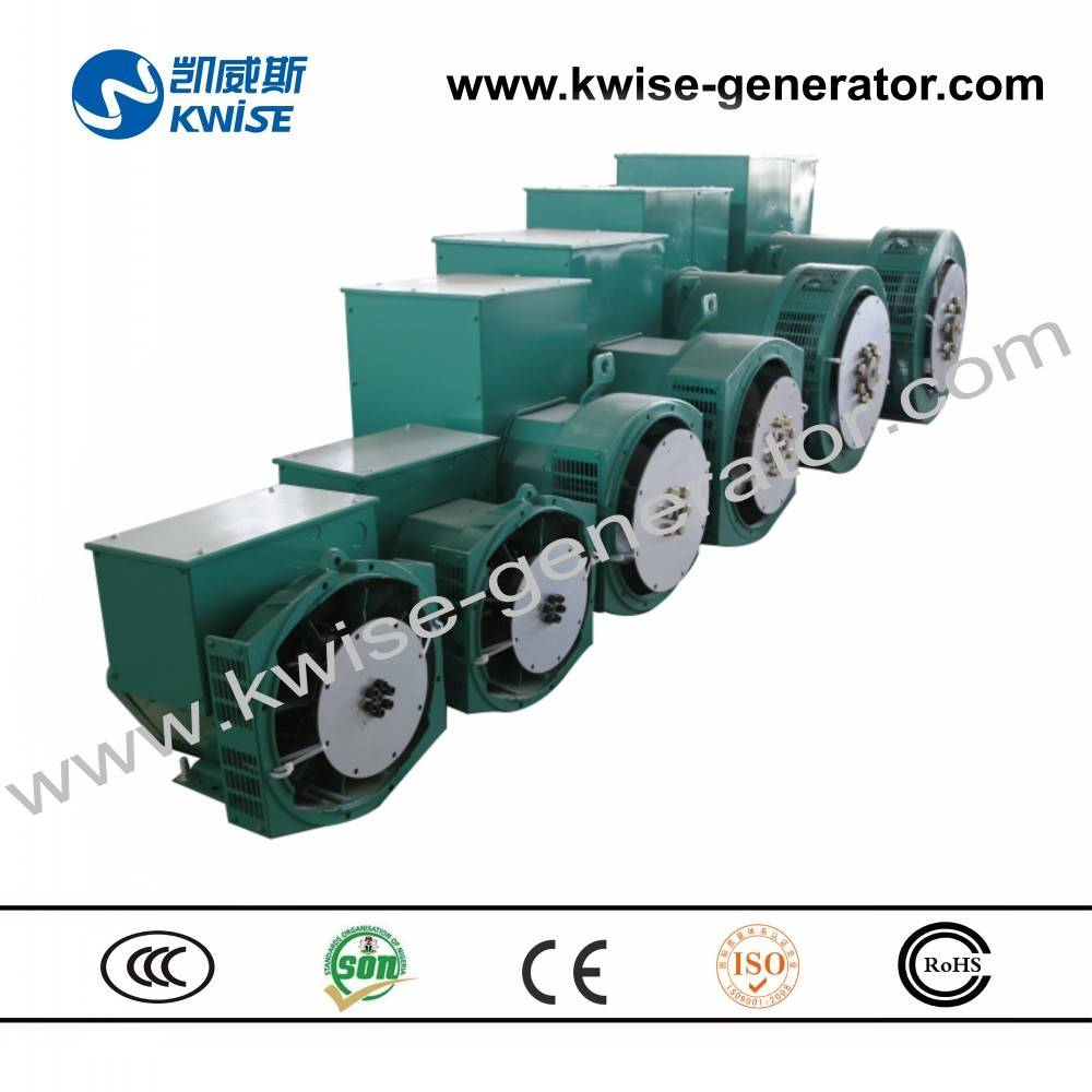 8kw to 2000kw single bearing generator