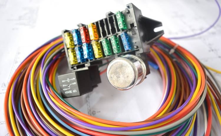 Head lights Wiring Harness