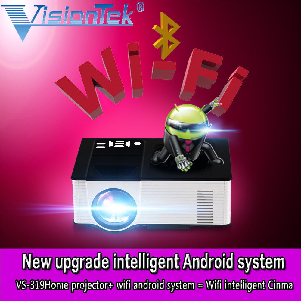 VS319 Multi-media 1500lumens HDMI 1080P hd 3d led android projector with wifi&bluetooth