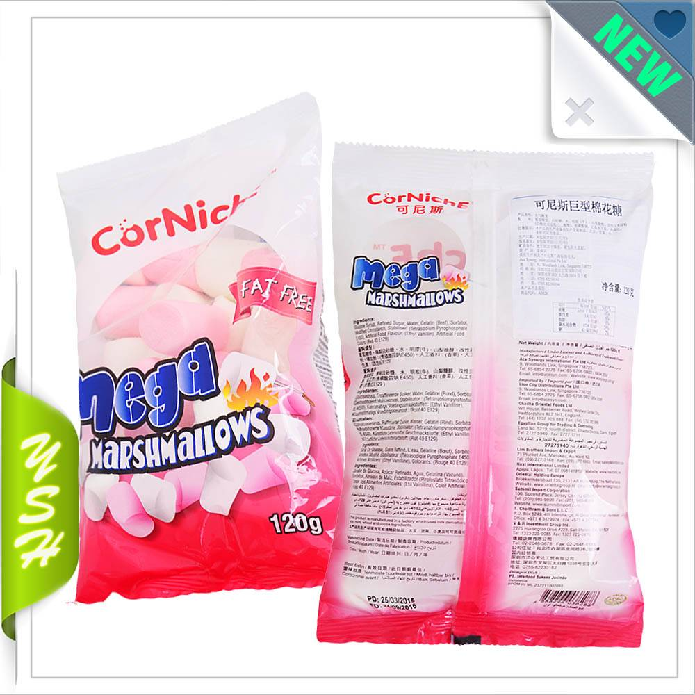 Marshmallow packaging doypack bag