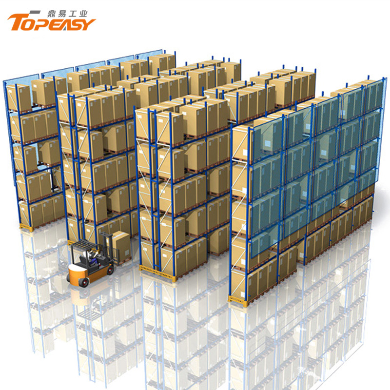 heavy duty warehouse metal storage selective pallet rack