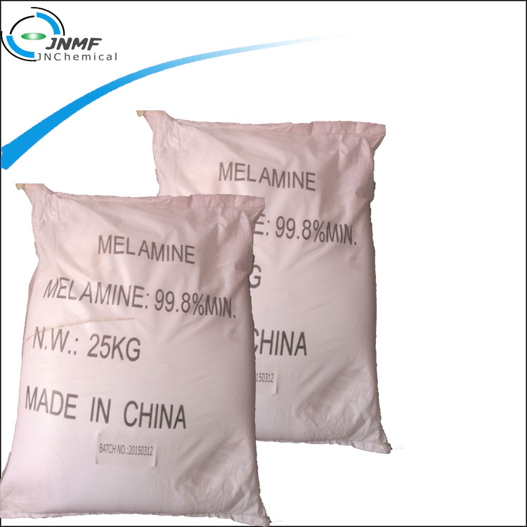 High purity 99.8 min industry grade melamine powder