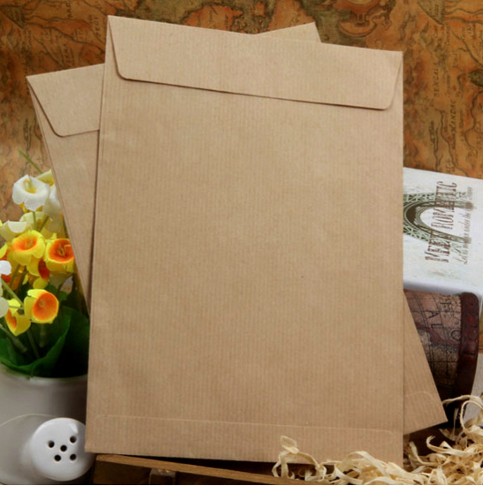brown kraft paper for making envelope