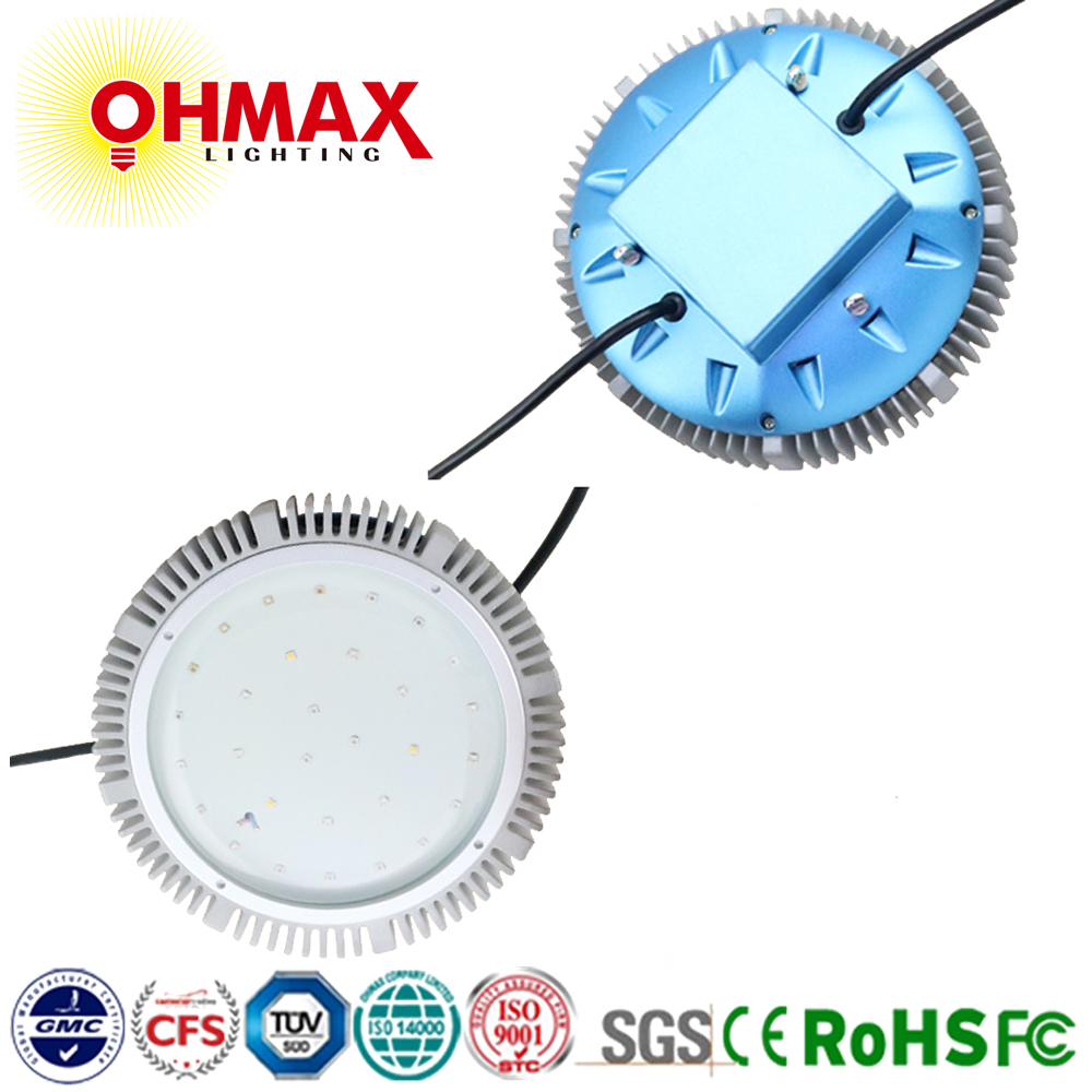 OHMAX 90W Spacecraft UFO Round Type LED Grow Light for Indoor Plants