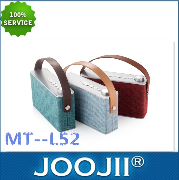 Fabric Bluetooth speaker compatible with phones, tablets, PC,etc