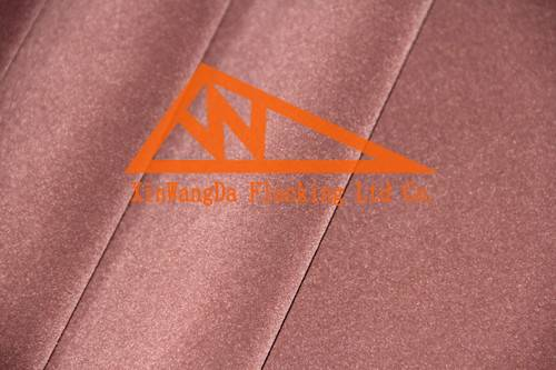 Brown Nonwoven fabric with flocking design, long-pile flocking materials, LCPAN52-5 M