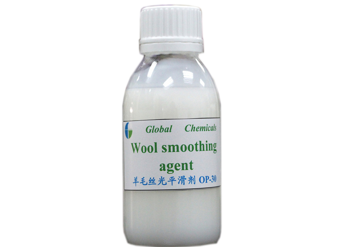 Wool Smoothing Agent OP-30 Milky White Emulsion