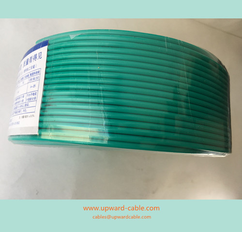 green industrial electrical cable fire resistant cables electric wires upwardcable