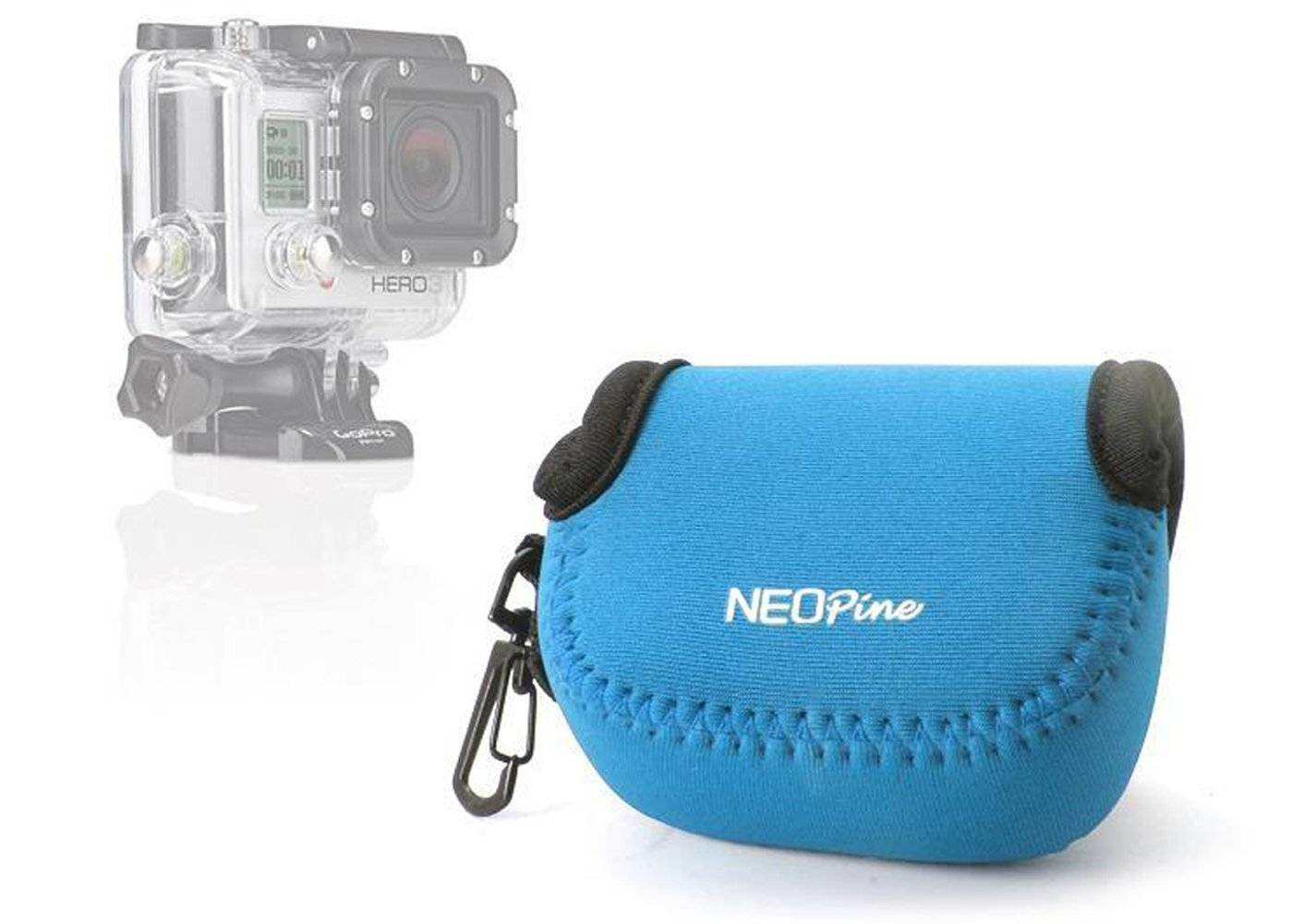 Portable Neoprene Bag for Gopro Xiaoyi SJCAM Action Camera