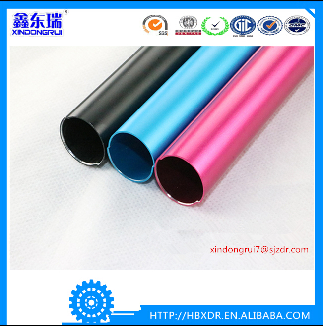 OEM customized best quality nice aluminum tube for exhibition