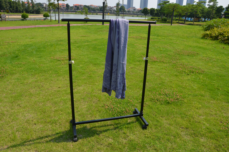 Outdoor camping clothing racks