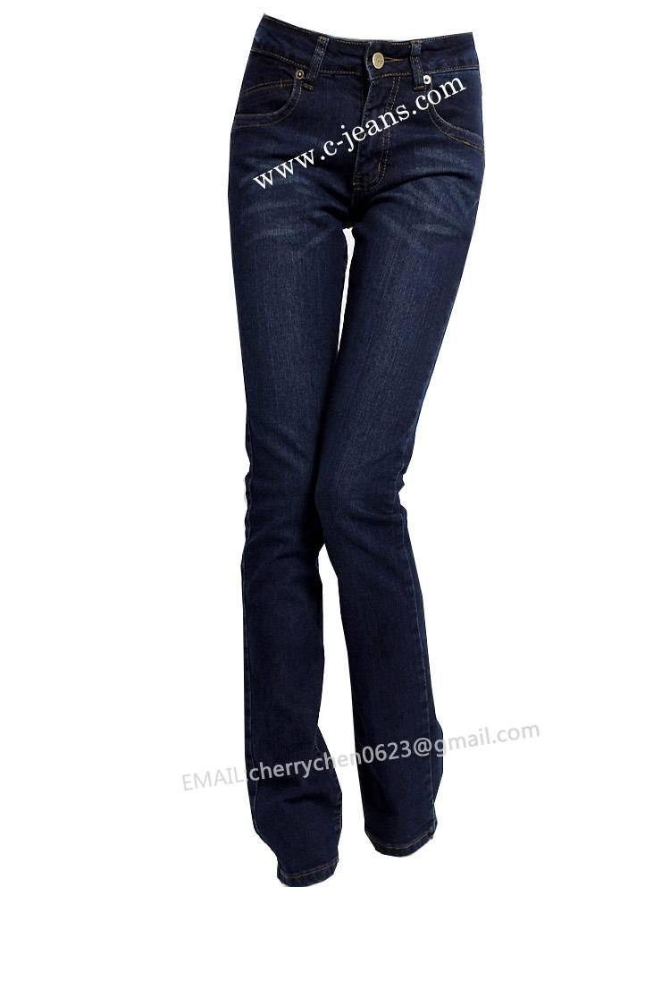 2014 Lady's Newest Fashion Straight Jeans for All Seasons