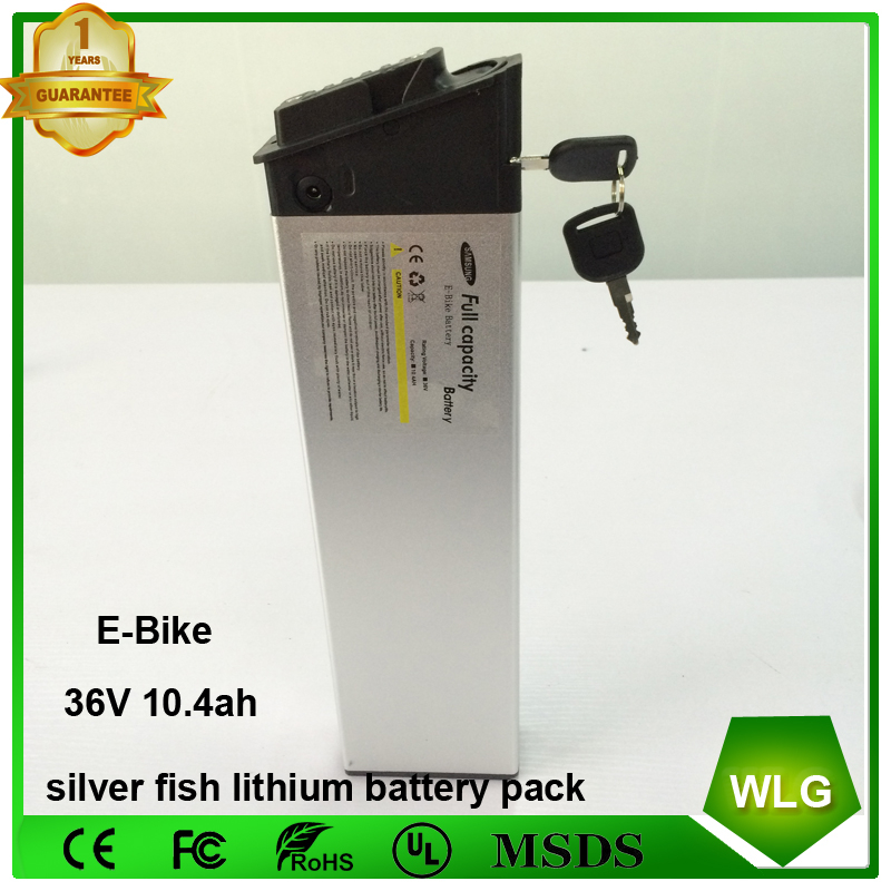 Rechargeable Samsung 36v 10.4ah lithium battery pack electric bike battery for ebike Bicycle