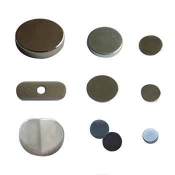 YCD10 Nickel Plating 8mm 10mm 12mm Neodymium Disk Magnet