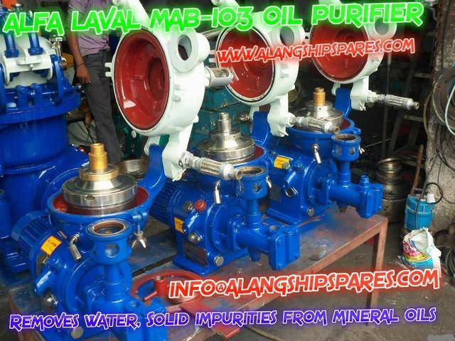 Reconditioned Alfa Laval oil purifier, industrial centrifuge, oil separators