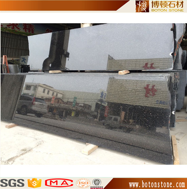 Chinese black galaxy granite stone