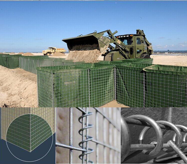 high galvanized hesco barrier hesco bastion supplier for military