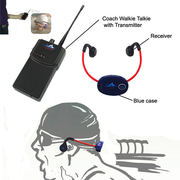 Hot Sales Bone conduction Headset and Walkie talkie for coach as Swimming training
