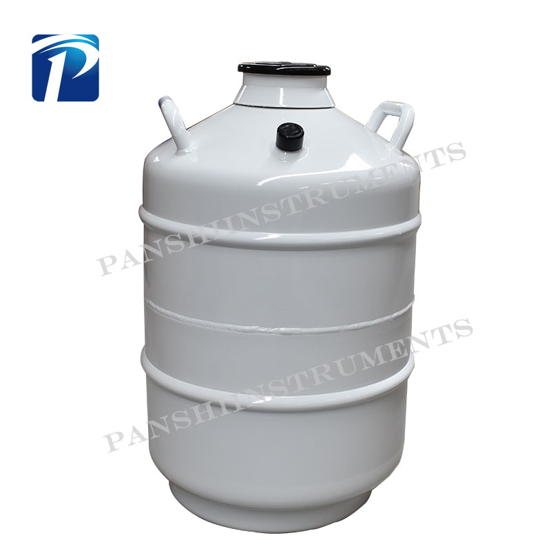 Laboratory Small Capacity Liquid Nitrogen Container for Storge