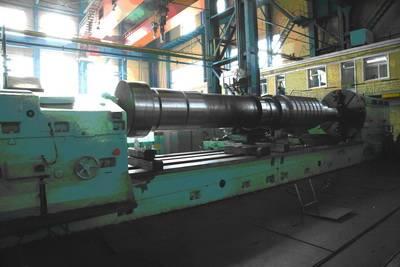 Medium - pressure rotor of steam turbine