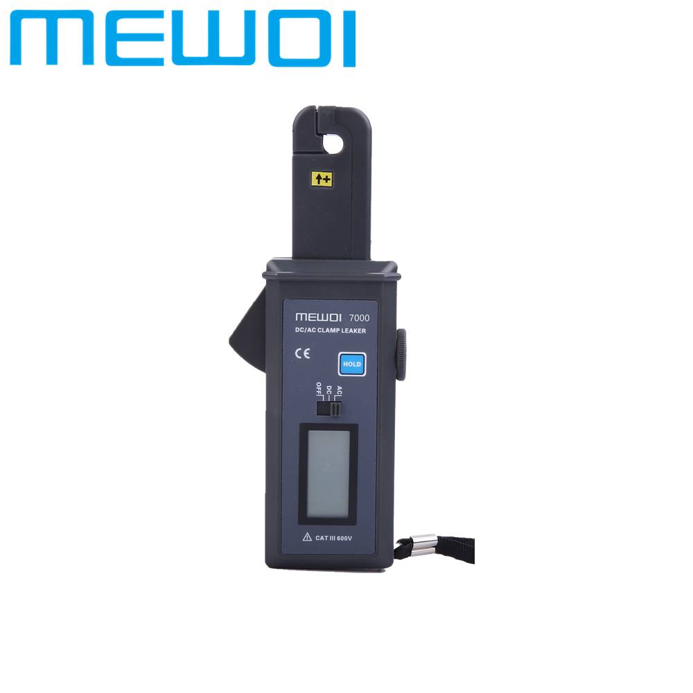 MEWOI7000-0mA~60.0A AC/DC High Accuracy Clamp Leaker /Current Leakage Tester