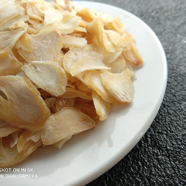 High Quality Dehydrated Flaked Garlic Slices