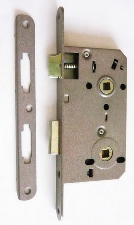 Bit Key Mortise Lock, Brass