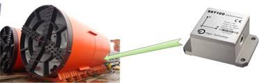 SST100 Tilt Sensor for pipe pusher