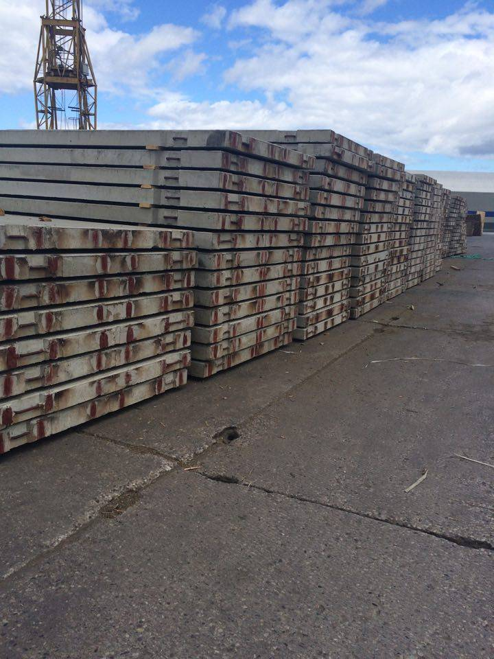 Reinforced concrete prestressed slabs PAG-14