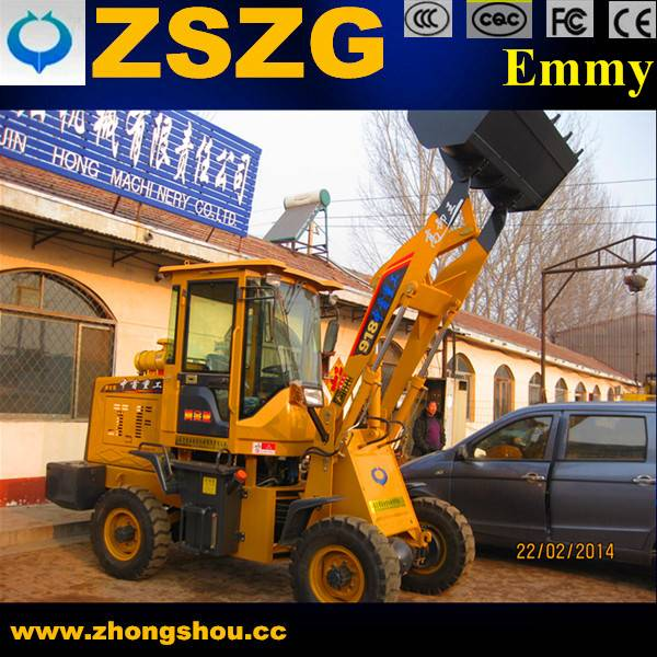 1800kg hydraulic ZL-918 loader