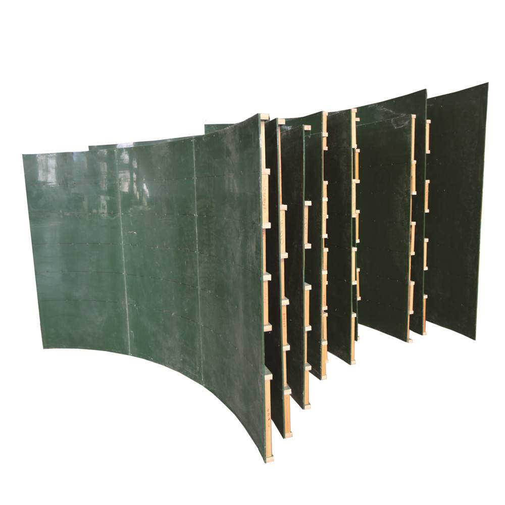Reusable 100 times concrete panels phenolic board faced plywood