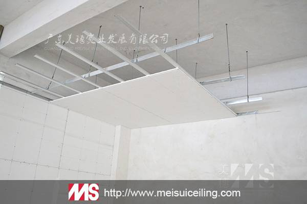 High Quality Sound Absorption Gypsum Board Ceiling Tiles
