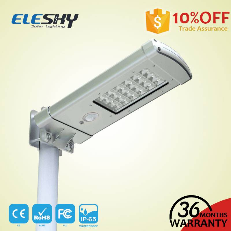 Waterproof Integrated Led Solar Garden Light Housing