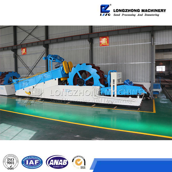 spiral sand washing machine in mineral water dealing plant machinery