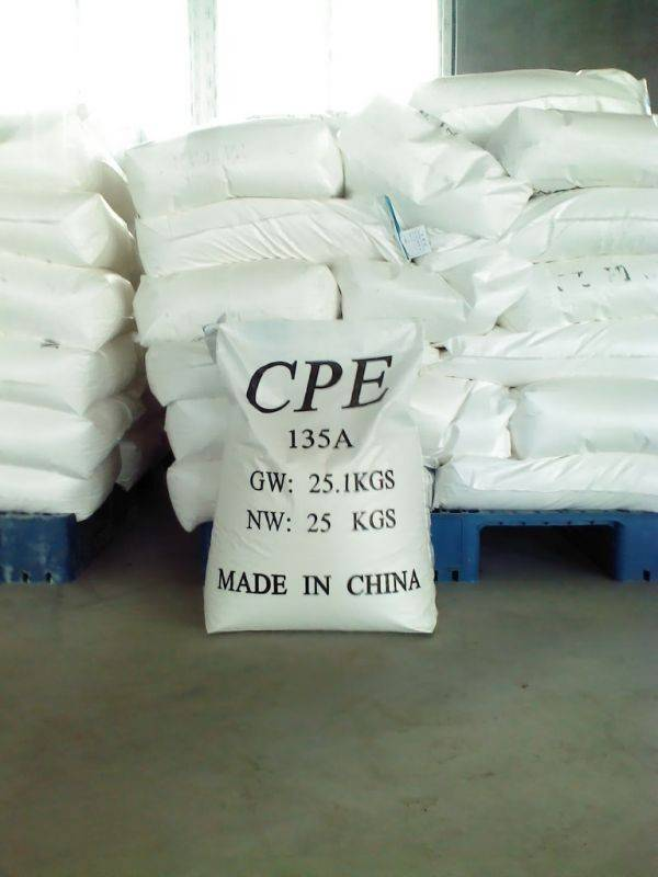 competitive price high quaity chloride polyethylene rubber materials CPE 135A
