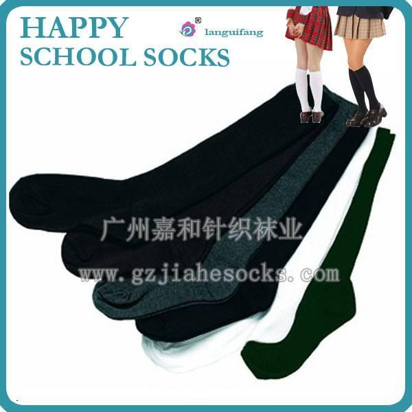 Custom New Design Polyester OEM school/student Socks