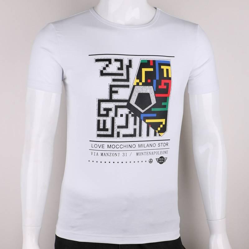 100% cotton summer latest t shirt designs for men high quality t-shirt .