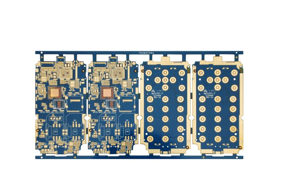 MKTPCB 6layers 1-stage HDI board