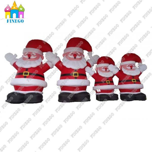Big Inflatable Santa Claus Model for Advertising