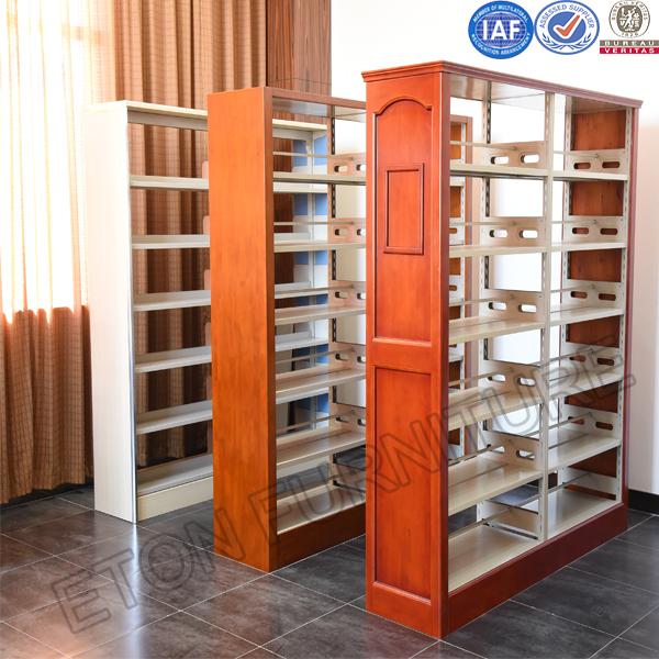 Steel Book Shelf Bookcase Storage Library Magazine Book Files Rack