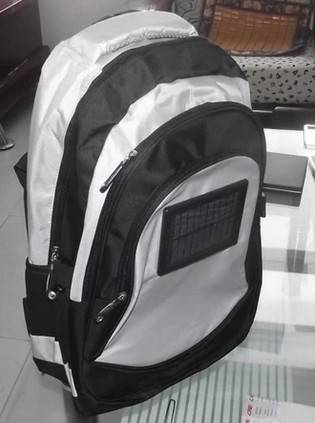 2015 hotsell outdoor Solar backpack with laptop compartment  YF- SL-A007