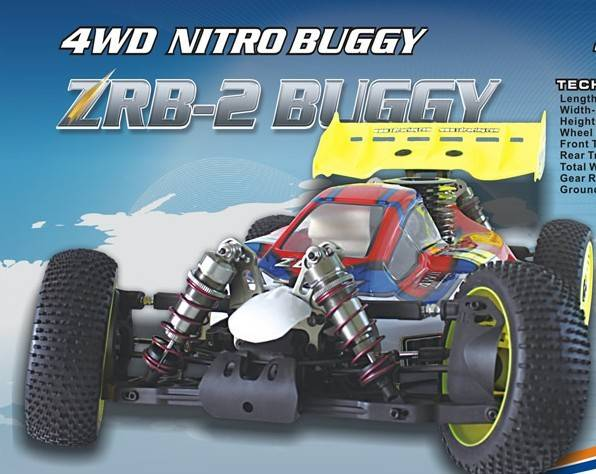 ZD RACING 1/8 nitro buggy