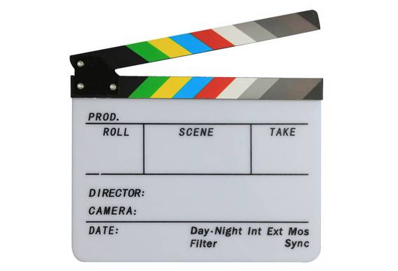 Film Photography Clapper Board