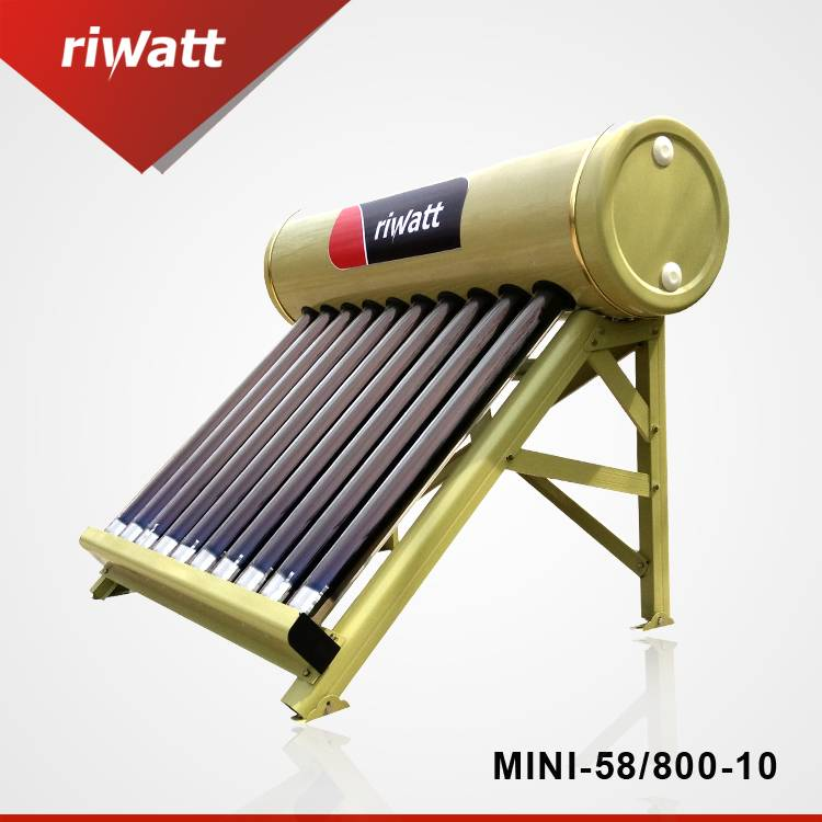 10 tubes  50L portable solar water heater