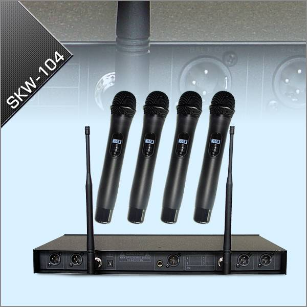 Professional UHF DPLL Wireless Microphone System
