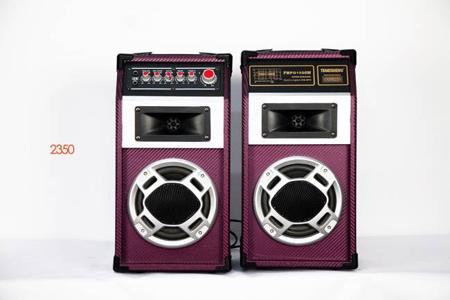 active stage movable speaker