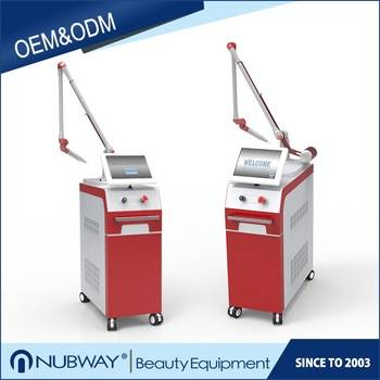 Korea imported laser arm 1064nm/532nm/1320nm nd yag laser tattoo removal machine